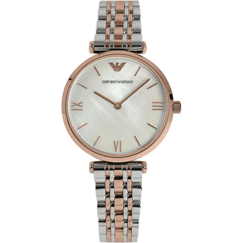 Emporio Armani Stainless Two-Tone Ladies Watch - AR1683