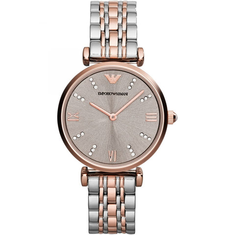 Emporio Armani Stainless Two-Tone Womens Watch - AR1840