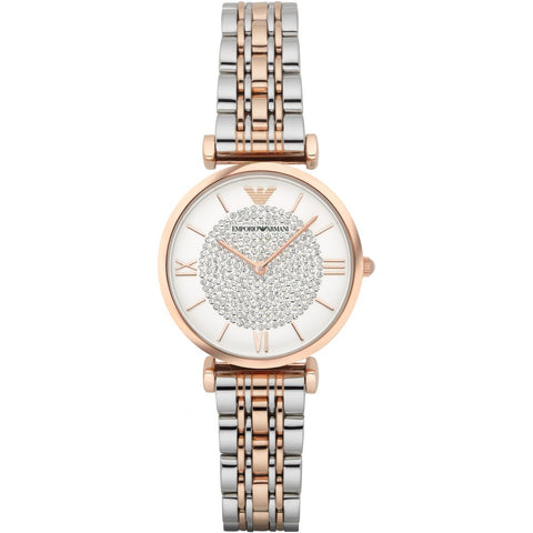 Emporio Armani Stainless Two-Tone Womens Watch - AR1926