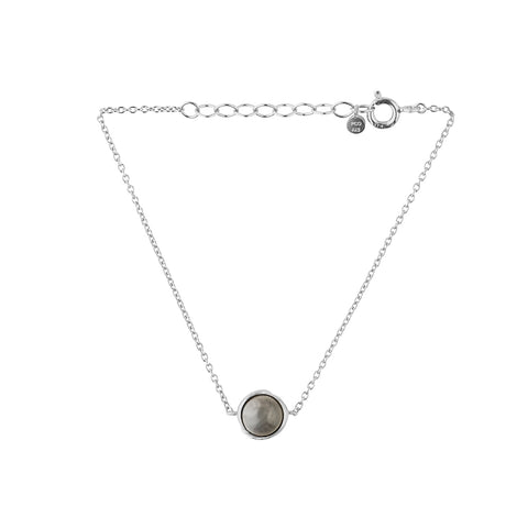 Dayglow - Aura Grey Moonstone Bracelet