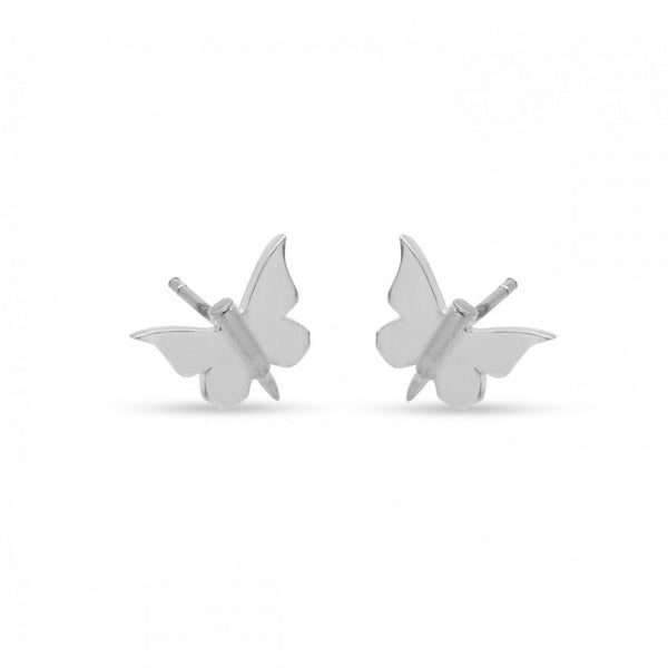 MichaelJohn Jewllery Bullet with Butterfly Wing Studs