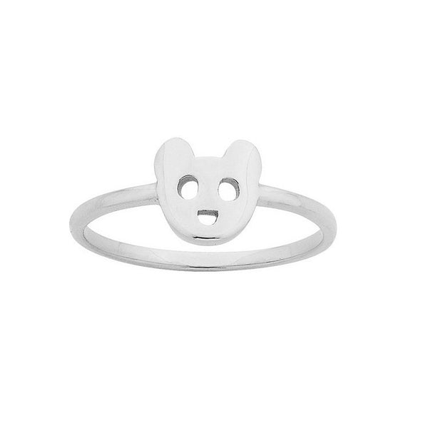 Karen Walker Superfine Mini Bear Ring
