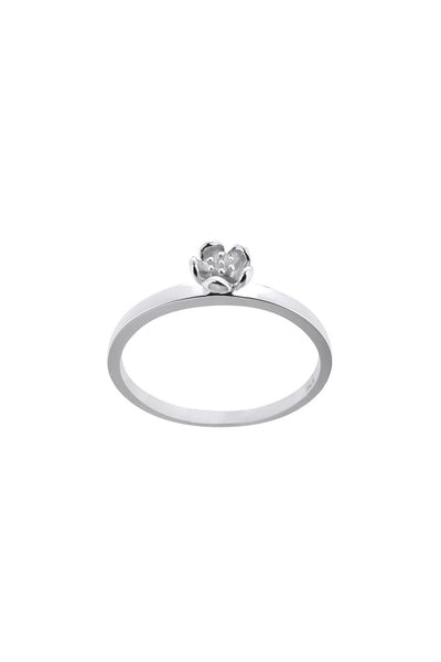 Karen Walker Rock Garden Mini Ring - Silver