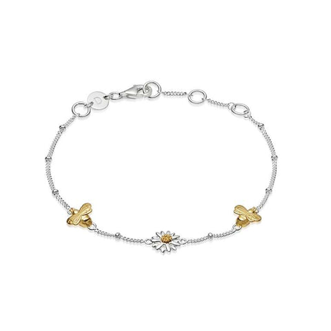 Daisy London English Daisy & Bee Bracelet - DLBR2005