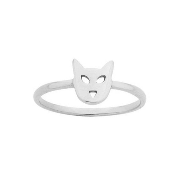 Karen Walker Superfine Mini Cat Ring