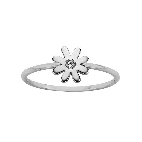 Karen Walker Superfine Mini Daisy Diamond Ring