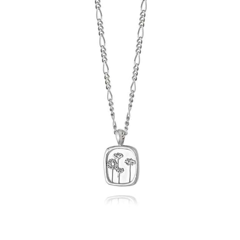 Daisy London Group Daisy Necklace Sterling Silver