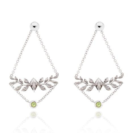 DOWN TO EARTH CHANDELIER EARRINGS