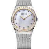 Bering Yellow & Steel Ladies Watch 12430-010