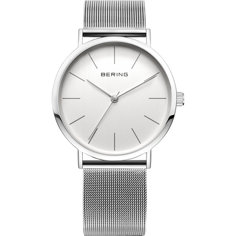 Bering Gents Vintage Slim Steel Mesh Watch 13436-000