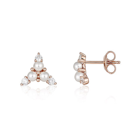 Georgini - Heirloom Precious Earrings - Rose Gold
