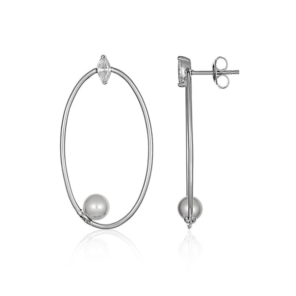 Georgini - Heirloom Admired Earrings - Silver