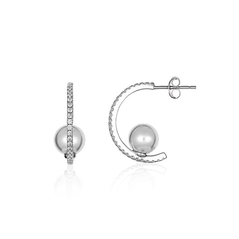 Georgini - Heirloom Legacy Earrings - Silver