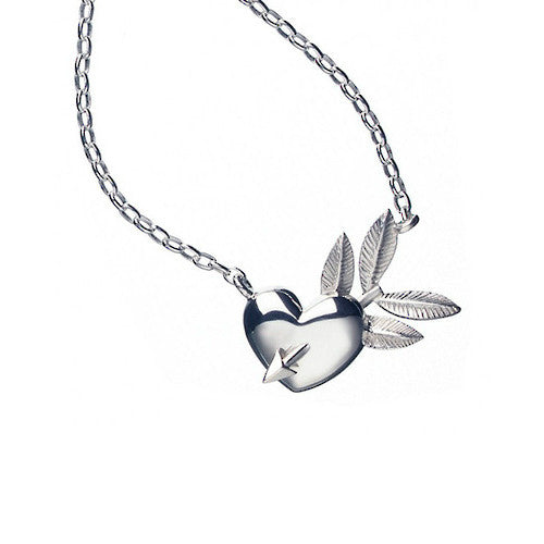 Karen Walker Classic Heart & Arrow Pendant