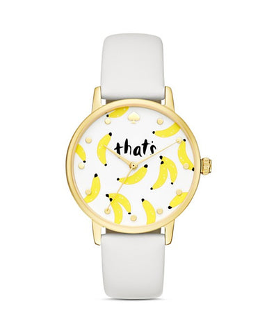 Kate Spade Metro That's Bananas Watch