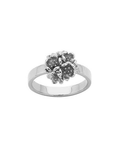 Karen Walker Botanical Flower Ball Ring