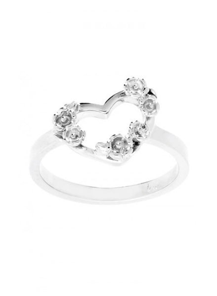 Karen Walker Botanical Heart Ring