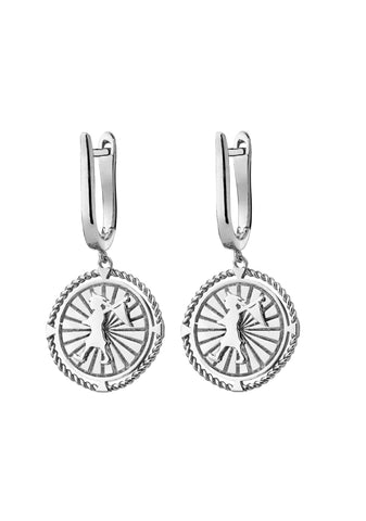 Karen Walker - Voyager Earrings - Silver