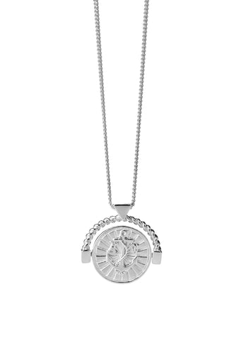 Karen Walker - Voyager Spin Necklace - Silver
