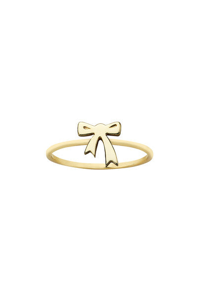 Karen Walker Mini Bow Ring - 9ct Gold