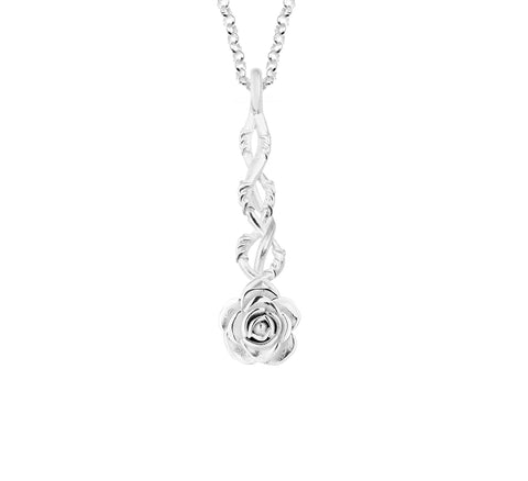 MichaelJohn Jewellery Barb Rose Pendant