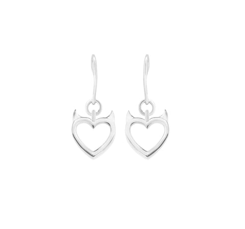 MichaelJohn Jewellery Heart Earrings