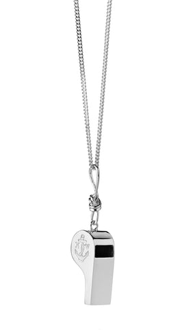 Karen Walker Navigator's Whistle- Silver
