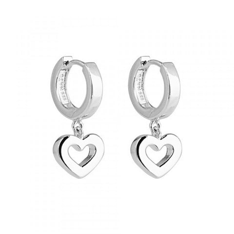Najo Lost Island Heart Earring