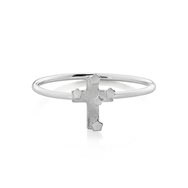 Boh Runga Small But Perfectly Formed Lil Southern Cross Ring - Size O