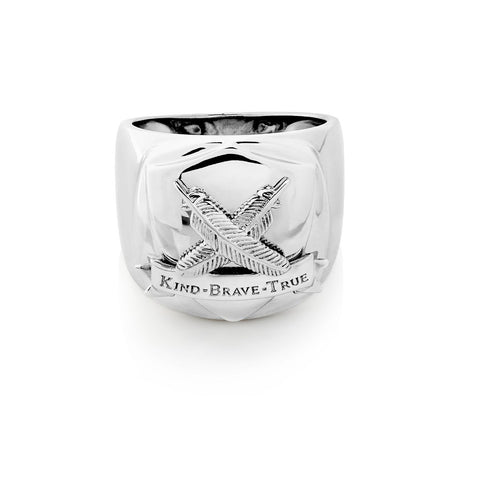 Boh Runga Gentlemen's Club Ring -Size W