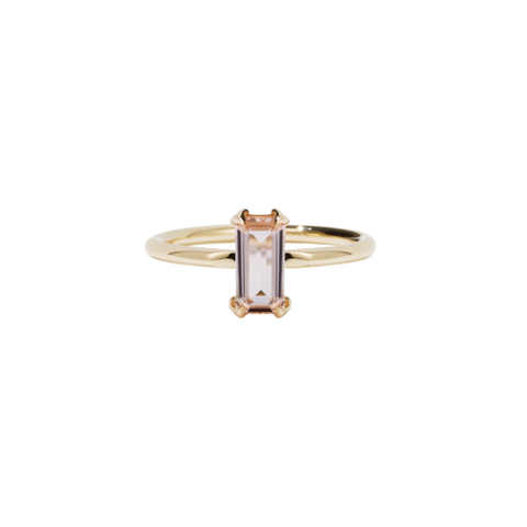 Meadowlark Paloma Ring - 9ct Yellow Gold & Morganite
