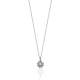 Meadowlark Protea Charm Necklace - Sterling Silver