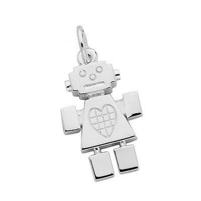 Karen Walker Robot Girl Charm