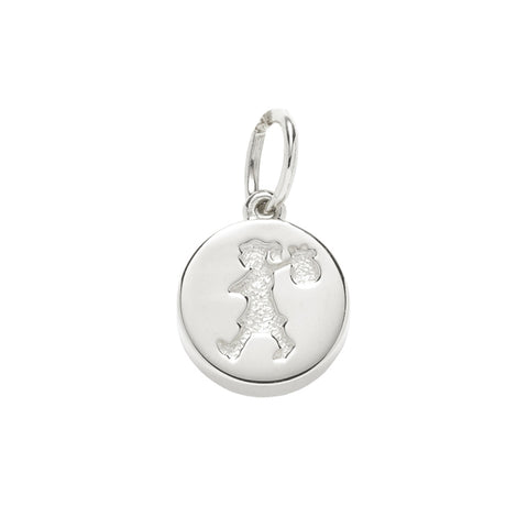 Karen Walker Runaway Girl Stamp Charm