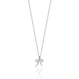 Meadowlark Serpent Charm Necklace - Sterling Silver