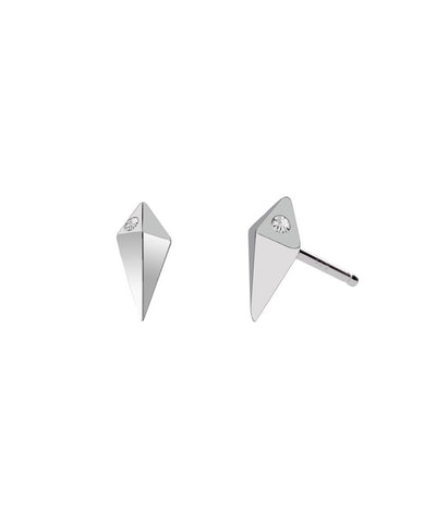 Edge of Ember Spike Silver Studs