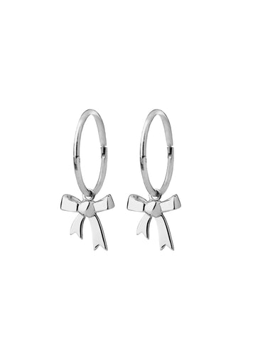 Karen Walker Bow Sleepers- Silver