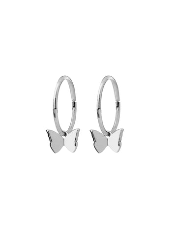 Karen Walker Butterfly Sleepers- Silver