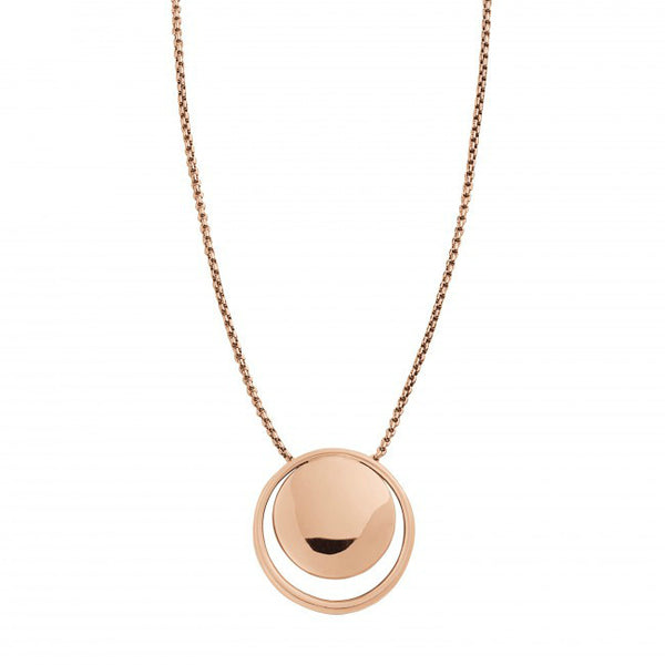 Skagen Elin Circle Pendant Necklace