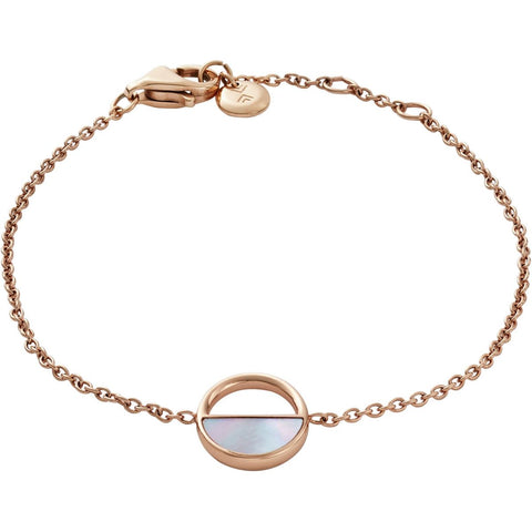 Skagen Jewellery Rose Gold Plated Elin Mother of Pearl Bracelet - SKJ0999791