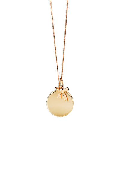 Karen Walker Society Necklace 9ct Yellow Gold