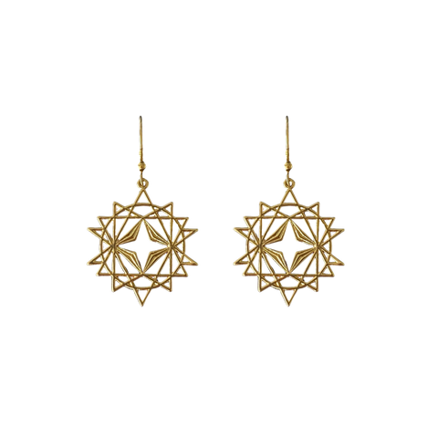 LINDI KINGI x Kelly Starseed Earrings | Gold