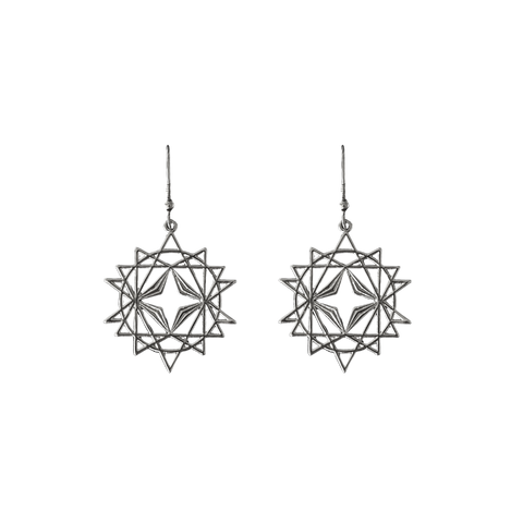 LINDI KINGI x Kelly Starseed Earrings | SILVER
