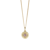 Meadowlark Ursa Necklace Medium - Gold Plated - Pink Tourmaline
