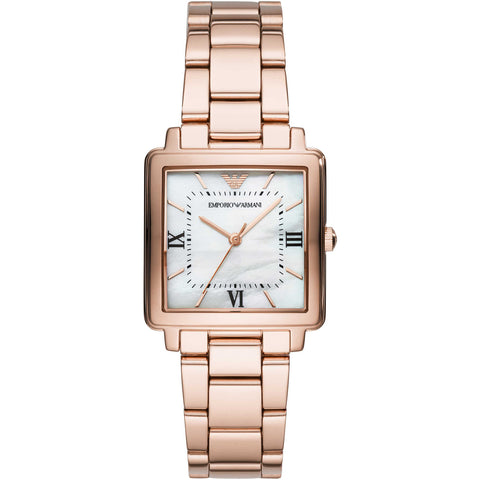 Emporio Armani Stainless Rose Gold Womens Watch - AR11177
