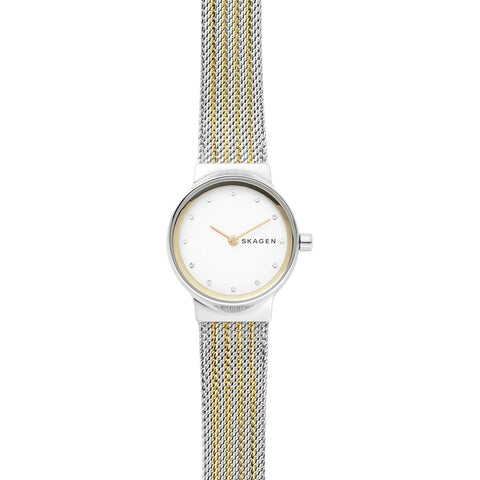 Skagen Freja Two-Tone Steel-Mesh Watch - SKW2698