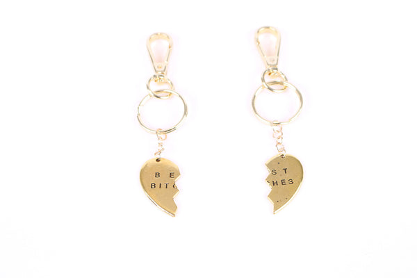 Heart Besties Keychain