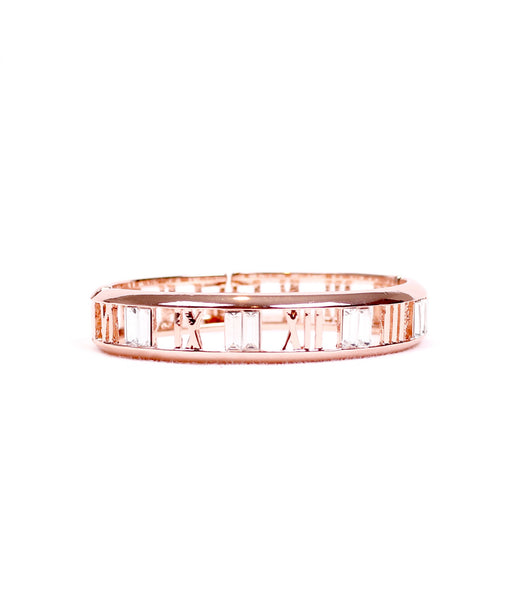Roman Numeral Hollow out bangle