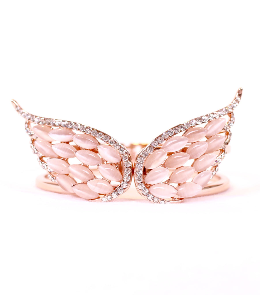 Elegant Angel Wings Cuff
