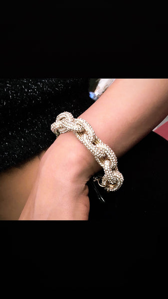 Magnificent Crystal Pave Bracelet